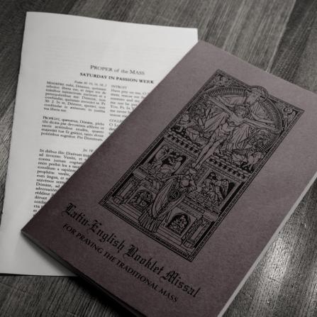 Booklet Missal