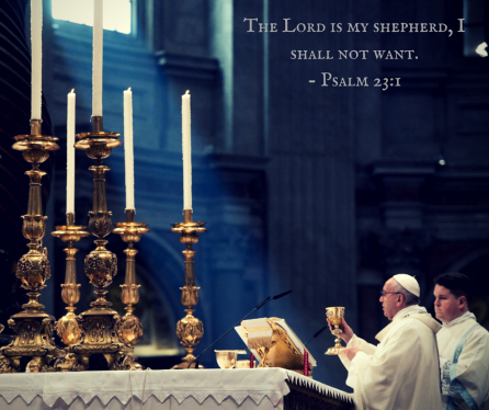 The Lord is my shepherd, I shall not want.- Psalm 23-1 (1)